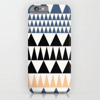 Triangle pattern 2 iPhone 6 Slim Case