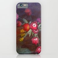 bouquet with tulips iPhone 6 Slim Case