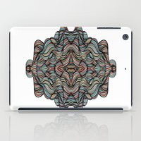 Abstract Waves of Thoughts iPad Case