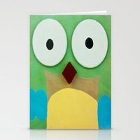 whoo? Stationery Cards
