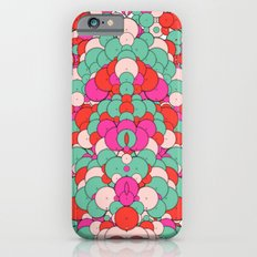 Chaotic Circles Pattern iPhone 6s Slim Case