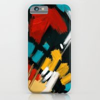 iPhone Cases featuring Composition by mystudio69