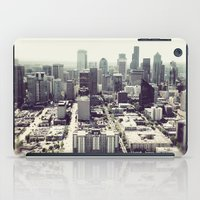 downtown seattle iPad Case