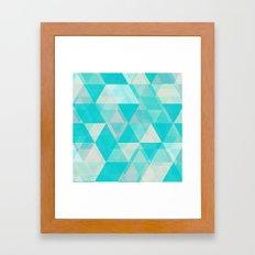 À LA MER Framed Art Print
