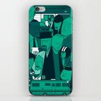 Breaking Bad (green version) iPhone & iPod Skin