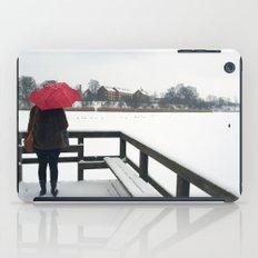 Copenhagen - Red Umbrella iPad Case