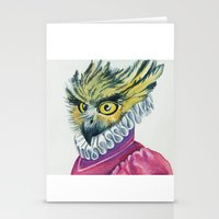 Ruffled Feathers Stationery Cards