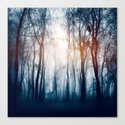 Morning Colours Canvas Print