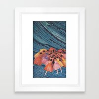 L' Framed Art Print