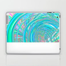 Re-Created  Hurricane 7 by Robert S. Lee Laptop & iPad Skin