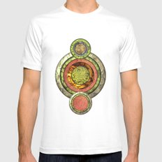 Tris Food Mens Fitted Tee SMALL White
