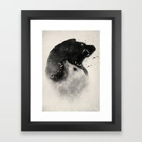 Polar Opposites  Framed Art Print