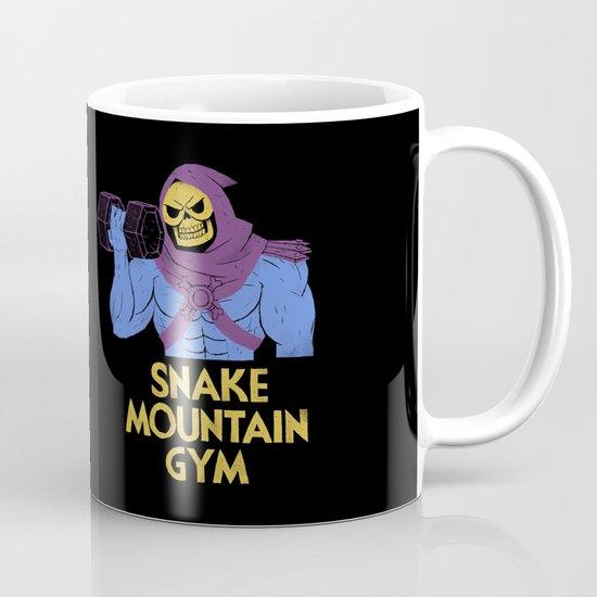 snake mountain gym Mug
