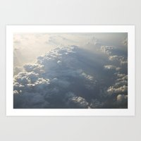 Above The Clouds No.3 Art Print