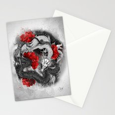 Two dragons Stationery Cards