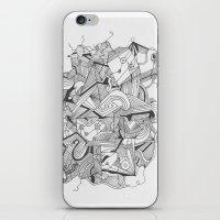 Art of Geometry 3 iPhone & iPod Skin