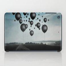 In Limbo - black balloons iPad Case