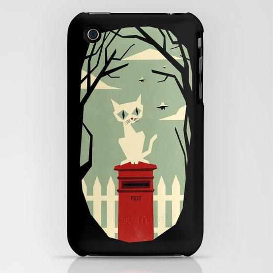 Let's meet at the red post box iPhone & iPod Case