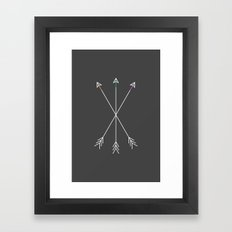 Killers (Gray) Framed Art Print