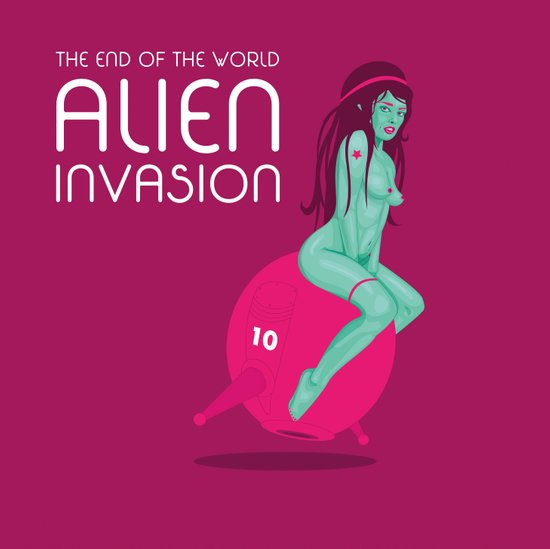 Alien Invasion Art Print
