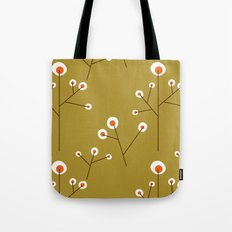Retro Green Pattern Design Tote Bag