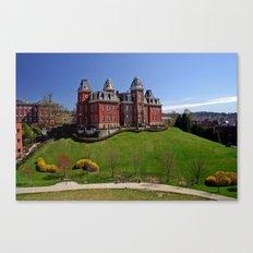 West Virginia University Canvas Print