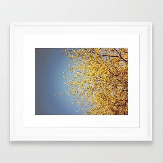 BRING ON THE SUNSHINE Framed Art Print