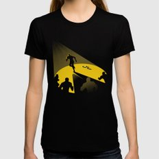 Endless Chase Womens Fitted Tee Black SMALL