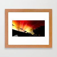 Light and Shaddow. Framed Art Print