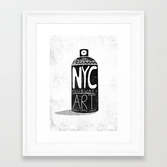 NYC 1972 Framed Art Print