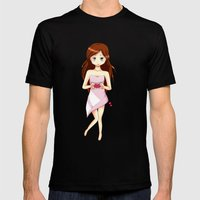 Valentine Mens Fitted Tee Black SMALL