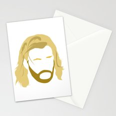 MINIMALIST THOR - THE AVENGERS Stationery Cards