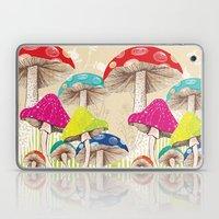 Magical Mushrooms Laptop & iPad Skin