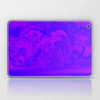 Purple and Pink swirls  Laptop & iPad Skin