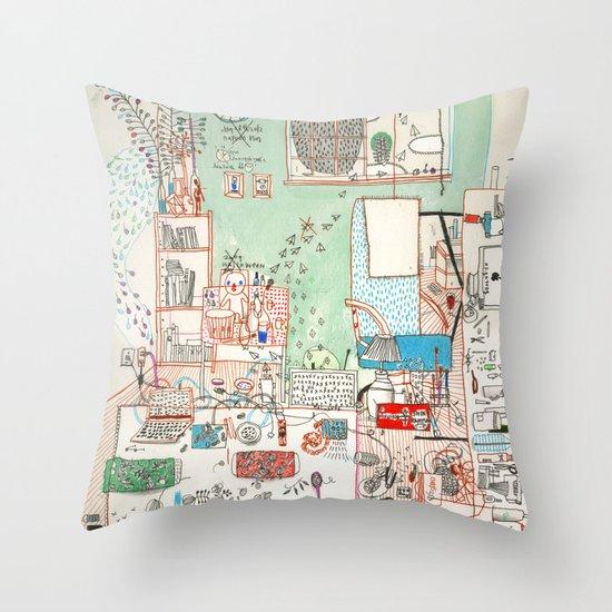 I Understand Throw Pillow