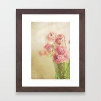 Beauty in a vase.... Framed Art Print