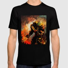 Logan SMALL Mens Fitted Tee Black