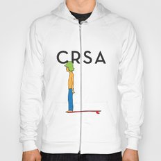 CRSA simple surfer poster Hoody