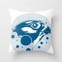 Falcon Throw Pillow