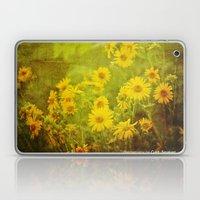 Flowers Of The Field Laptop & iPad Skin