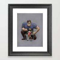 The Champion Framed Art Print