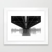Rail / Ways Framed Art Print
