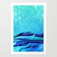Into The Sea - For Iphon… Art Print