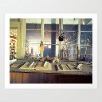 Boom Store Art Print