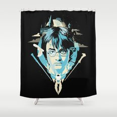 The Boy Who Lived Shower Curtain
