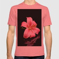 Black Beauty Mens Fitted Tee Pomegranate SMALL