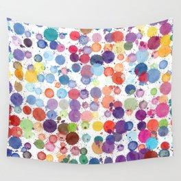 Wall Tapestry - Watercolor Drops - zeldashafferdesigns