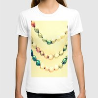 pastel T-shirts featuring pASTel Vintage Beads by 2sweet4words Designs