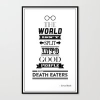 HP Quotes - Order of the Phoenix Canvas Print