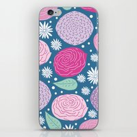 Mary Flower iPhone & iPod Skin